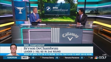 DeChambeau refuses the general press after the low round