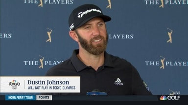 Johnson to focus on PGA Tour over Olympics