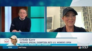 Cristie Kerr receives special exemption for US Women's Open