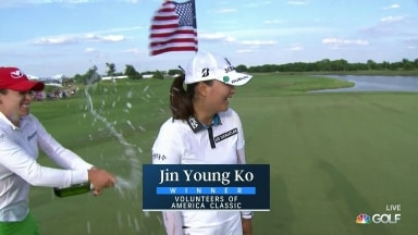 Ko holds on to win Volunteers of America Classic