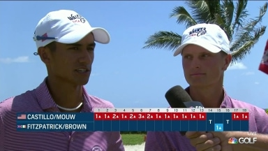 Castillo, Mouw extend USA lead at 48th Walker Cup