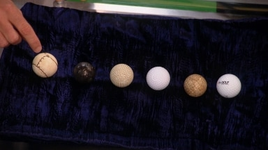 Then to now: The evolution of the golf ball