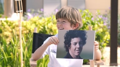 Rory McIlroy gets grilled by Little Interviews' Billy
