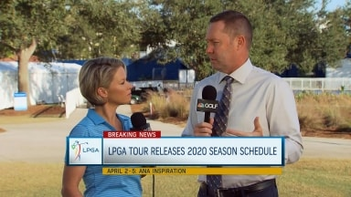 Commissioner Whan: Big changes to new LPGA schedule