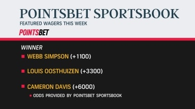 PointsBet: Best wagers for Shriners Hospitals for Children Open