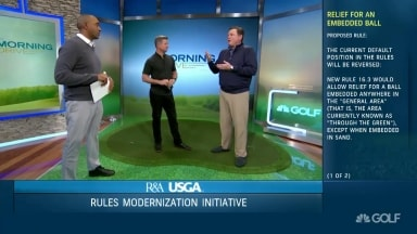 Makes Sense Proposed Rule On Relief For Embedded Ball Golf Channel