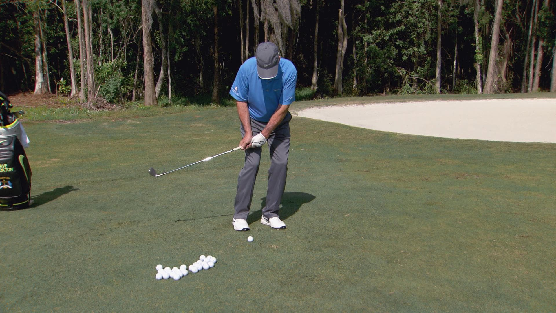 Dave Stockton on chipping low and high golf shots