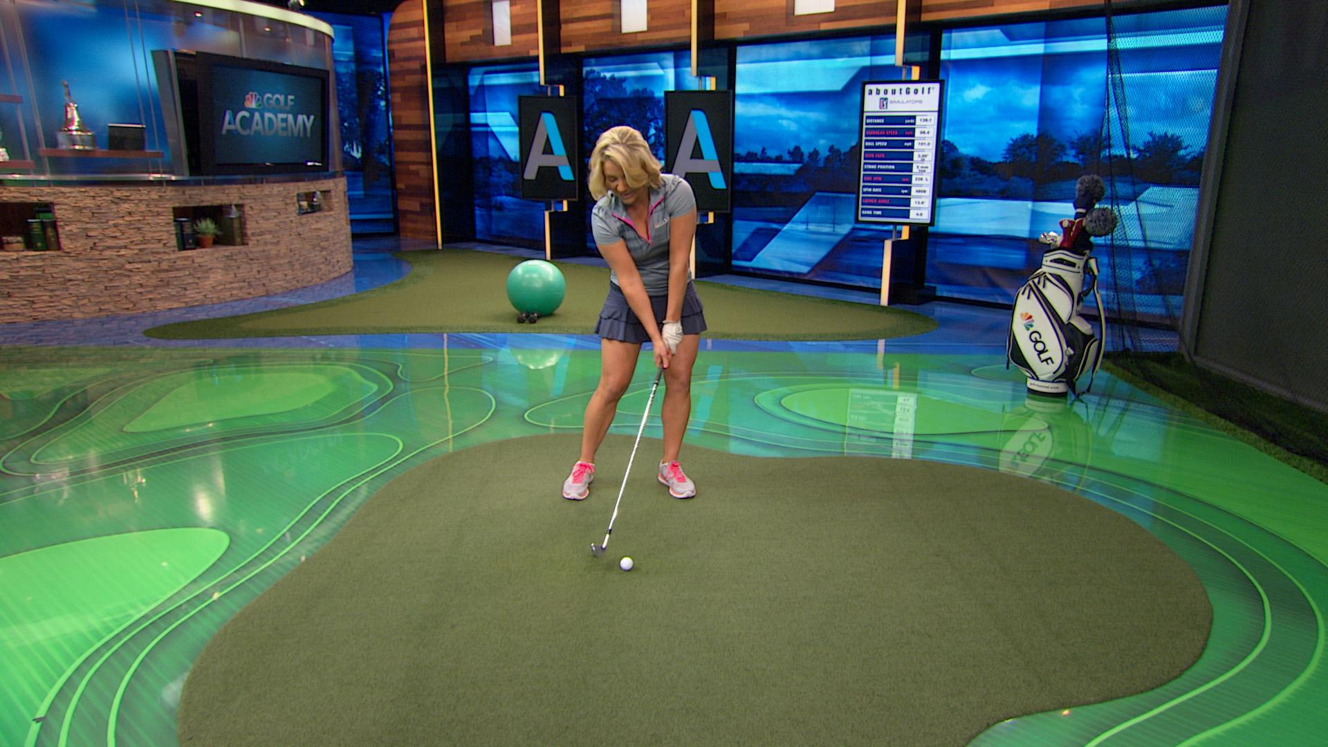 How to control the club face and stop flipping wrists