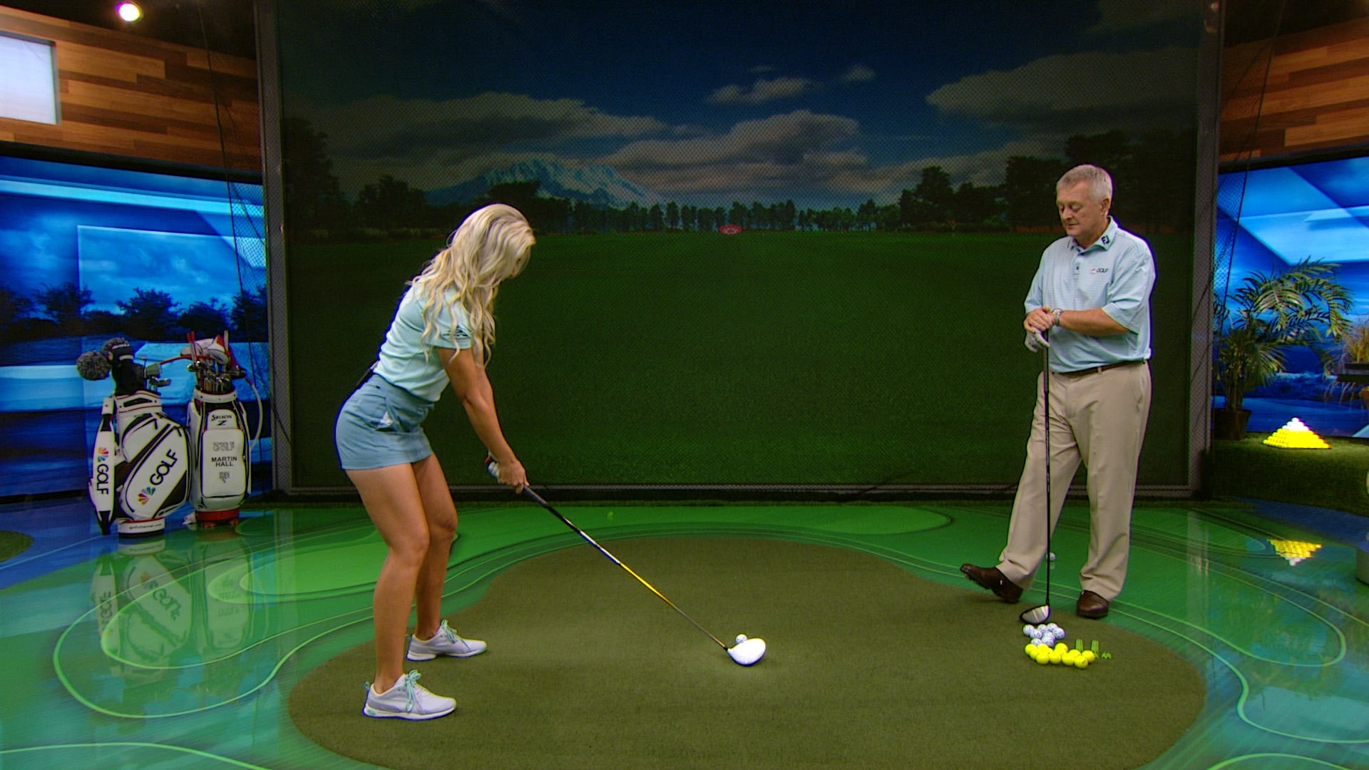 Golf Channel Morning Drive Cast >> How to conquer first tee jitters in golf | Golf Channel