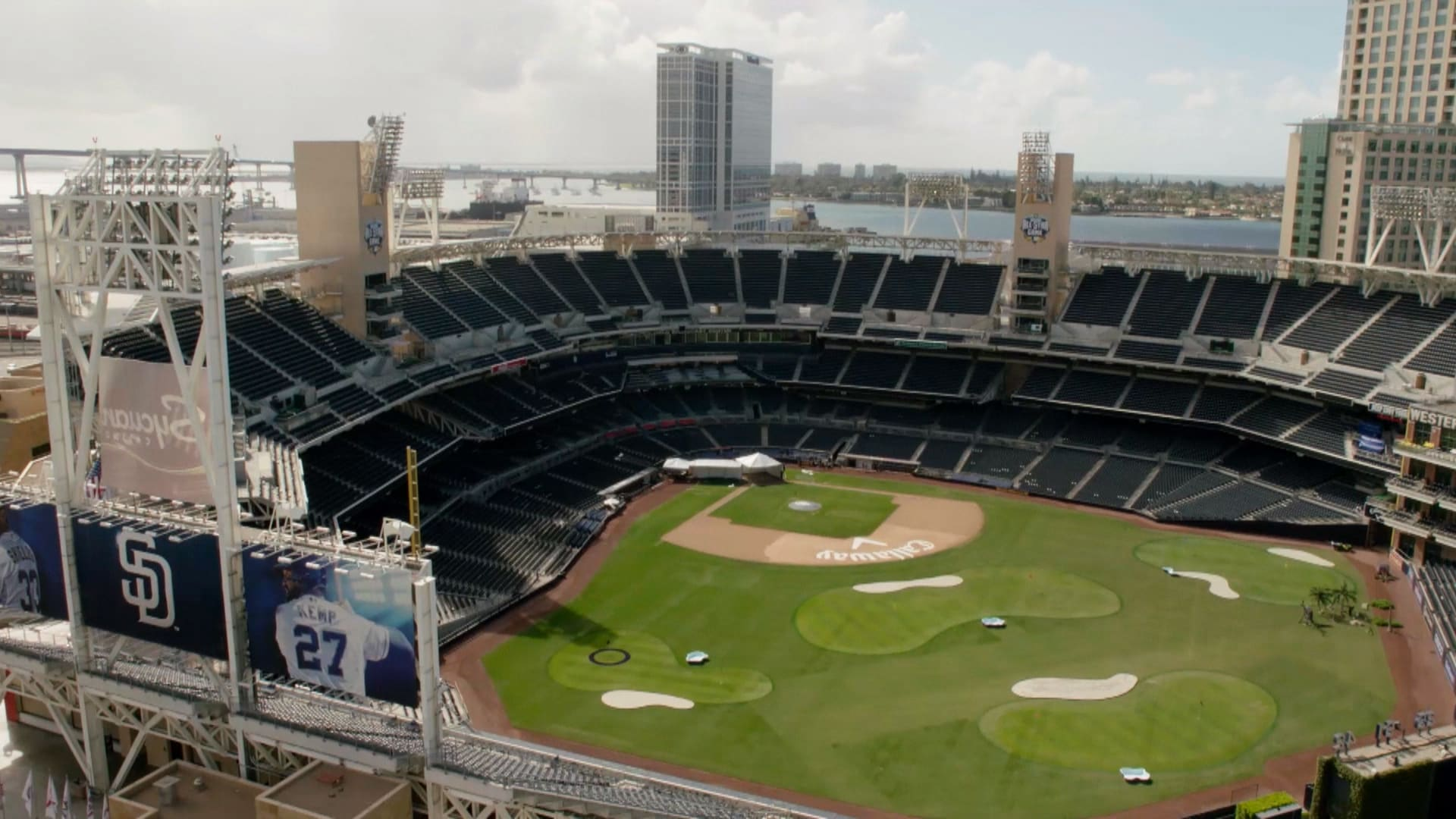 The links at petco park golf course in baseball stadium golf channel malvernweather Image collections