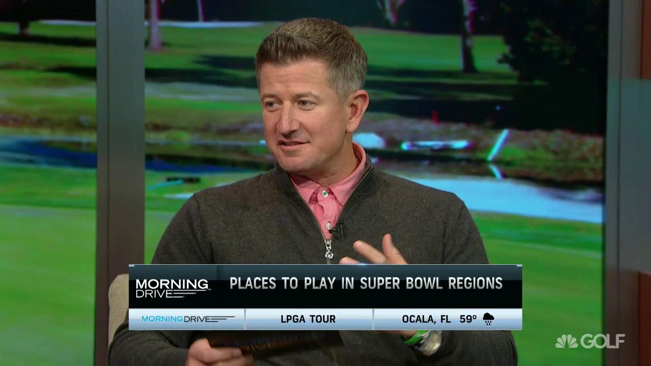 Matt Ginellas Places To Play In The Super Bowl Regions Golf Channel