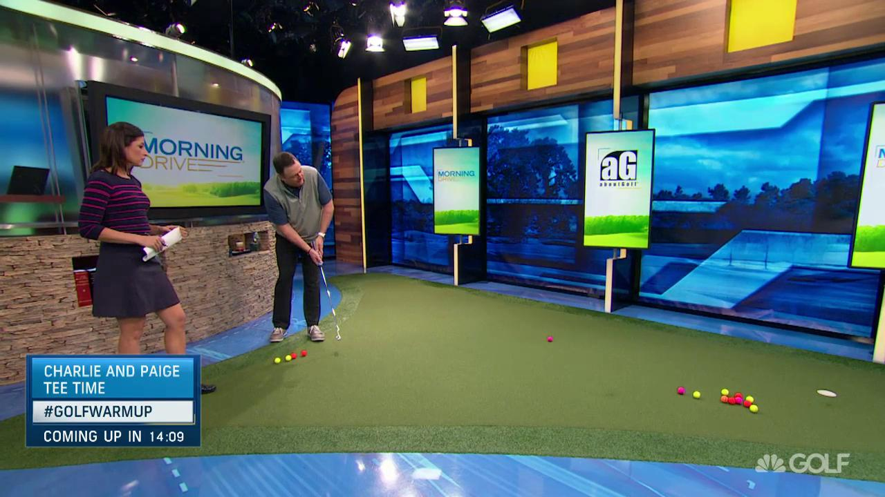 Charlie Rymer S Putting Warmup Tips Golf Channel