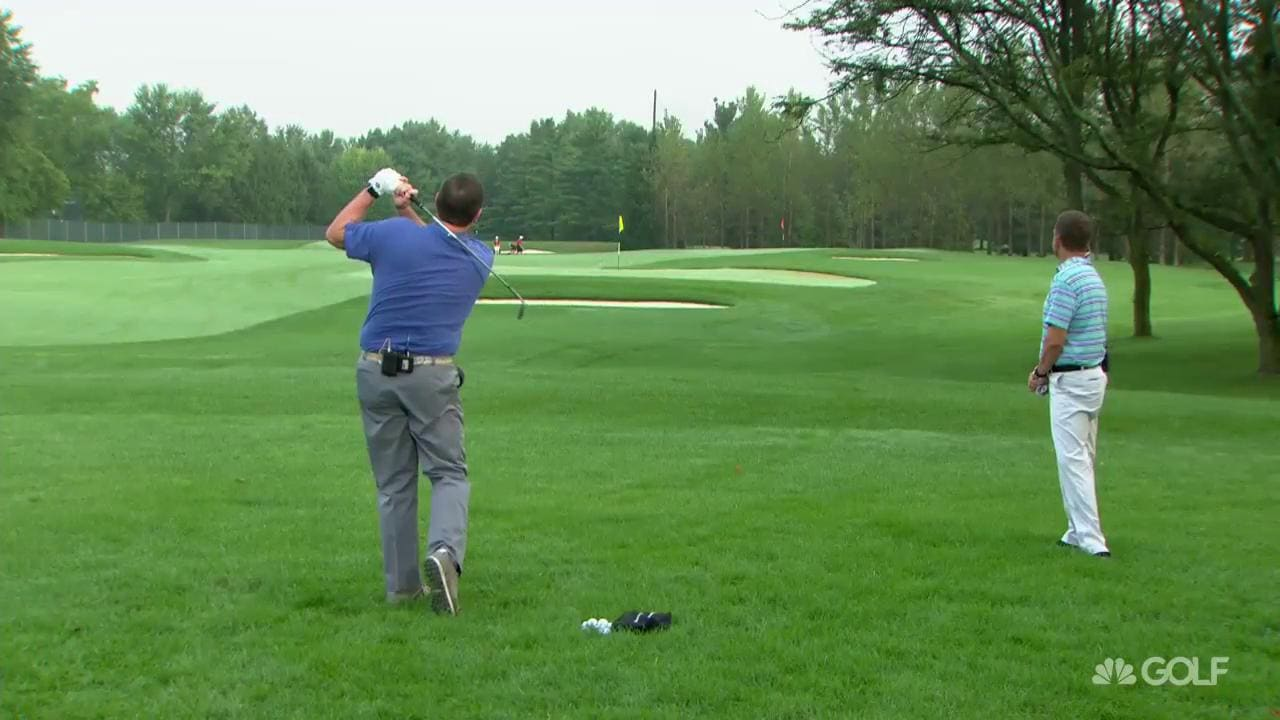 Charlie Rymer Tips On 100 Yard Approach Shot From Rough