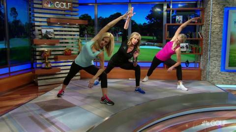 Katherine Roberts Yoga For Golfers Golf Channel