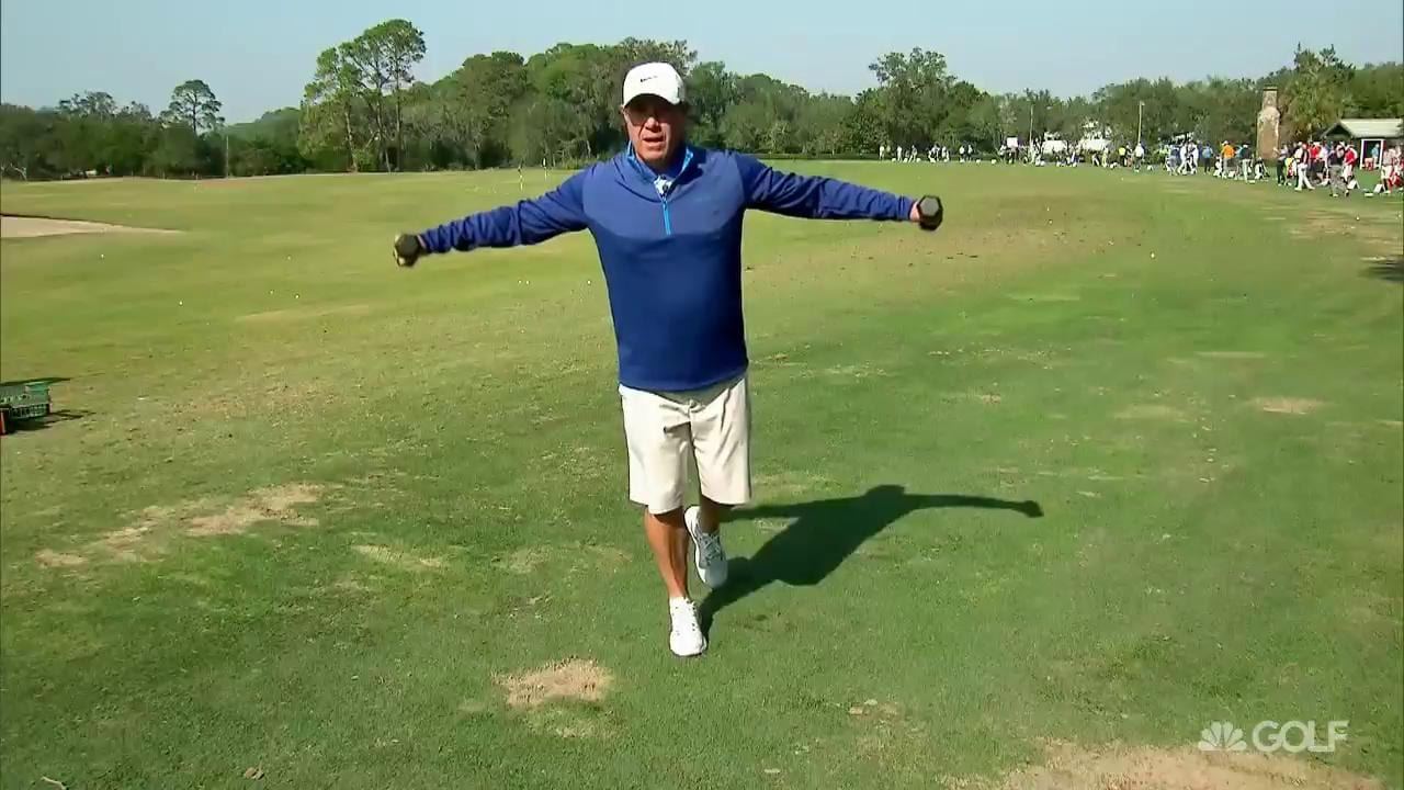 Randy Myers 5 Pound Weight Warm Up Drills Golf Channel