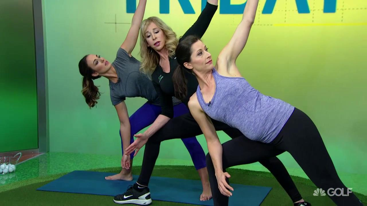Fitness Tips Power Swing From Ground Up With Yoga Golf Channel