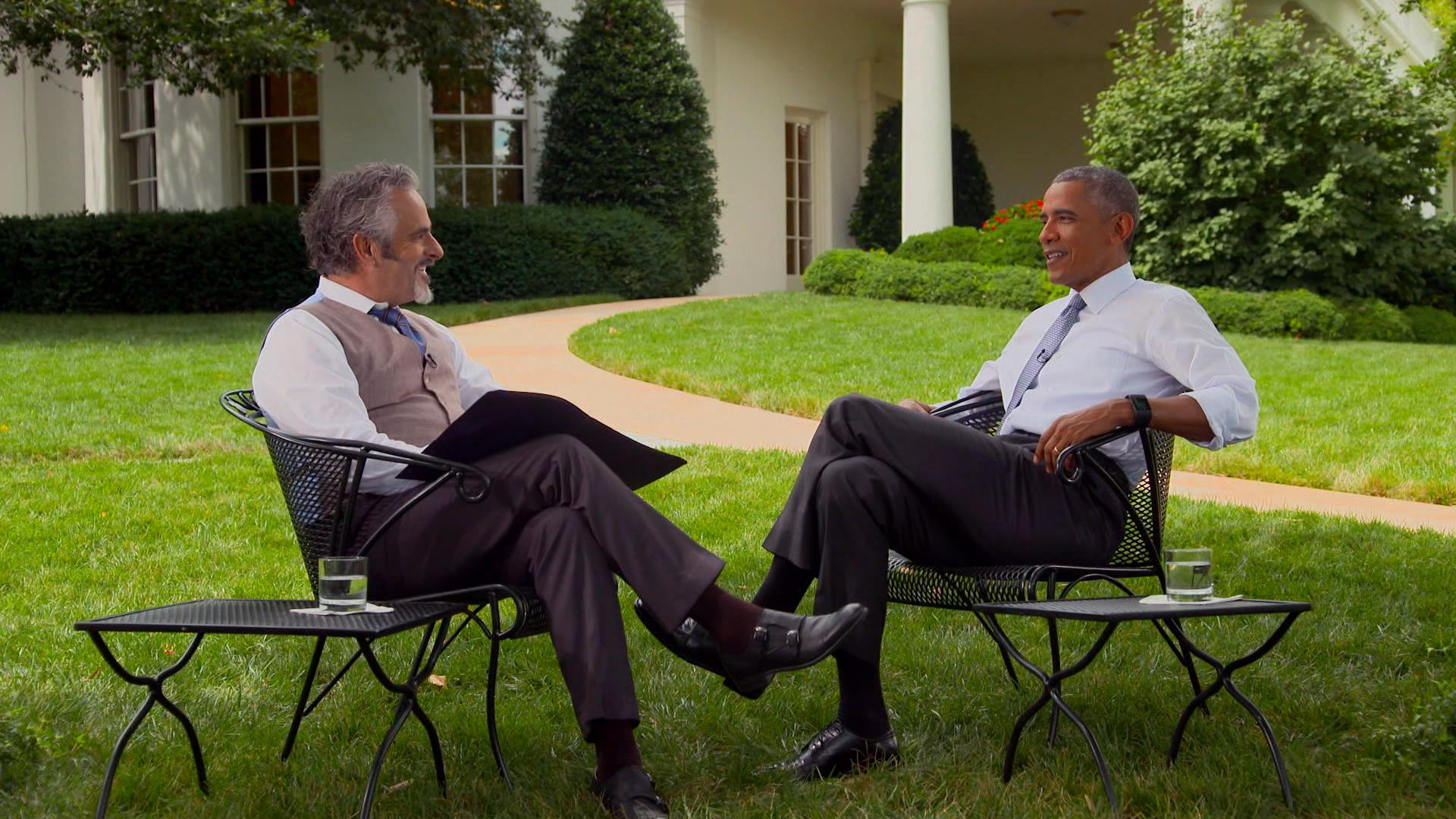 David Feherty Talks Olympics With President Obama Golf Channel # Meuble Tv Olympo