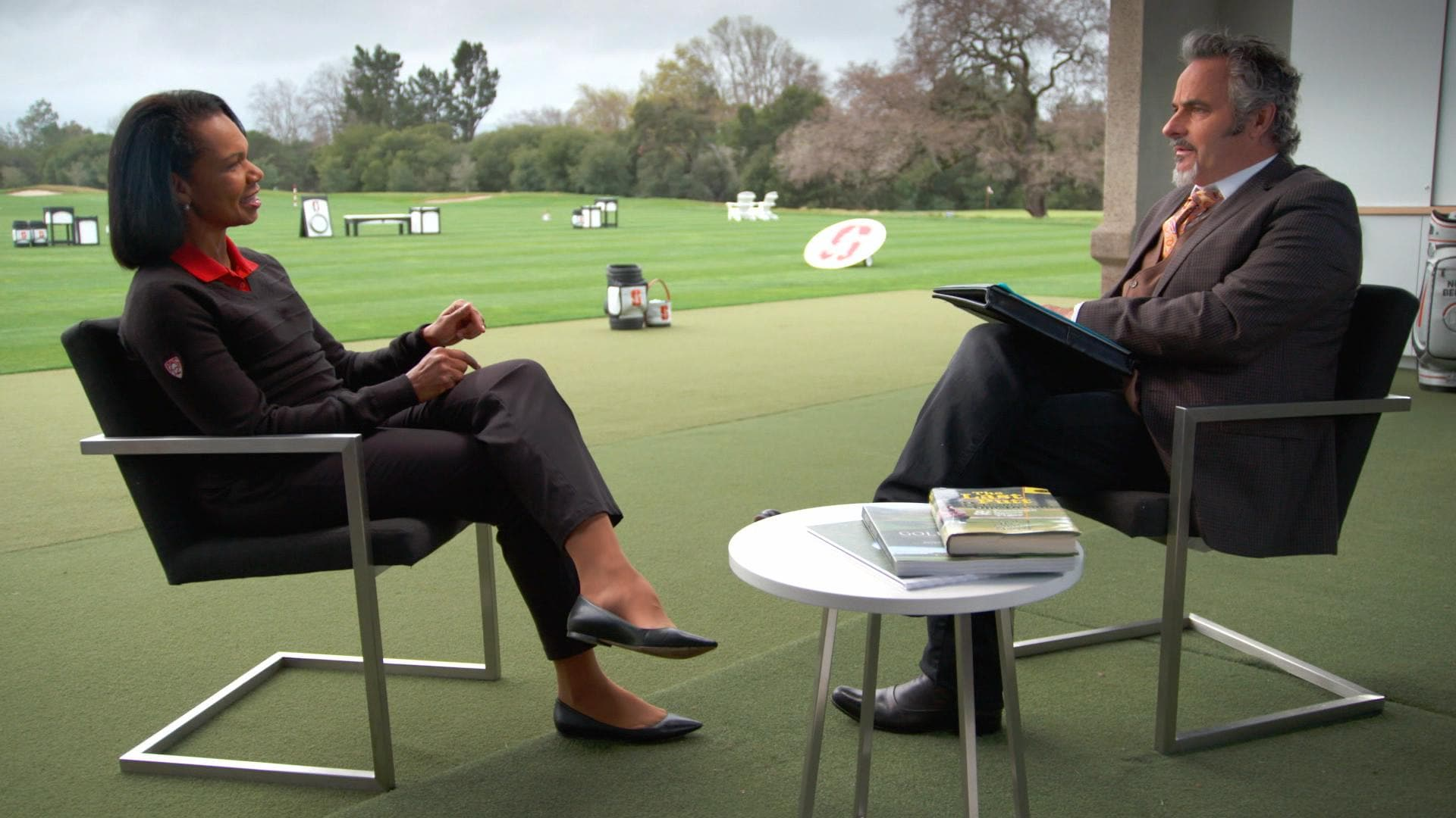 condoleezza rice tells feherty how she discovered golf