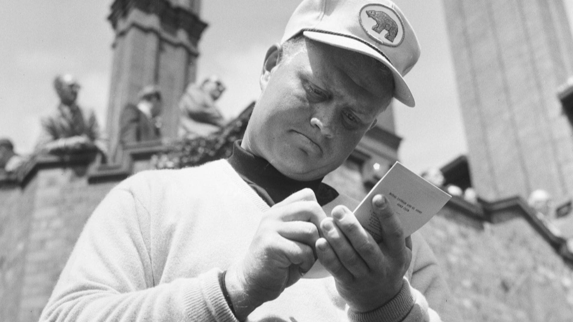 How Jack Nicklaus invented the golf yardage book | Golf Channel