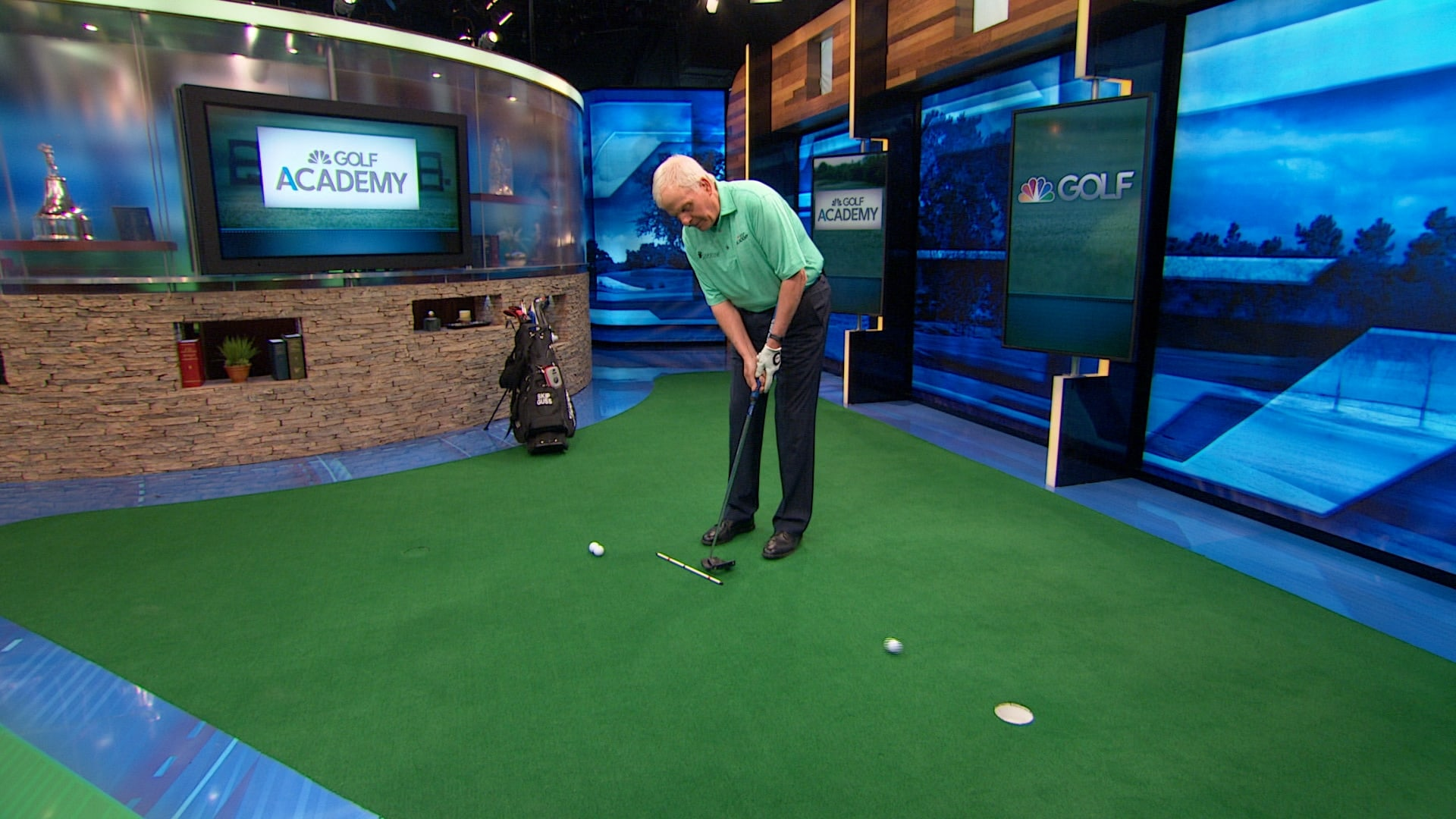 Skip Guss Putting Ratio Distance Control Tip Golf Channel