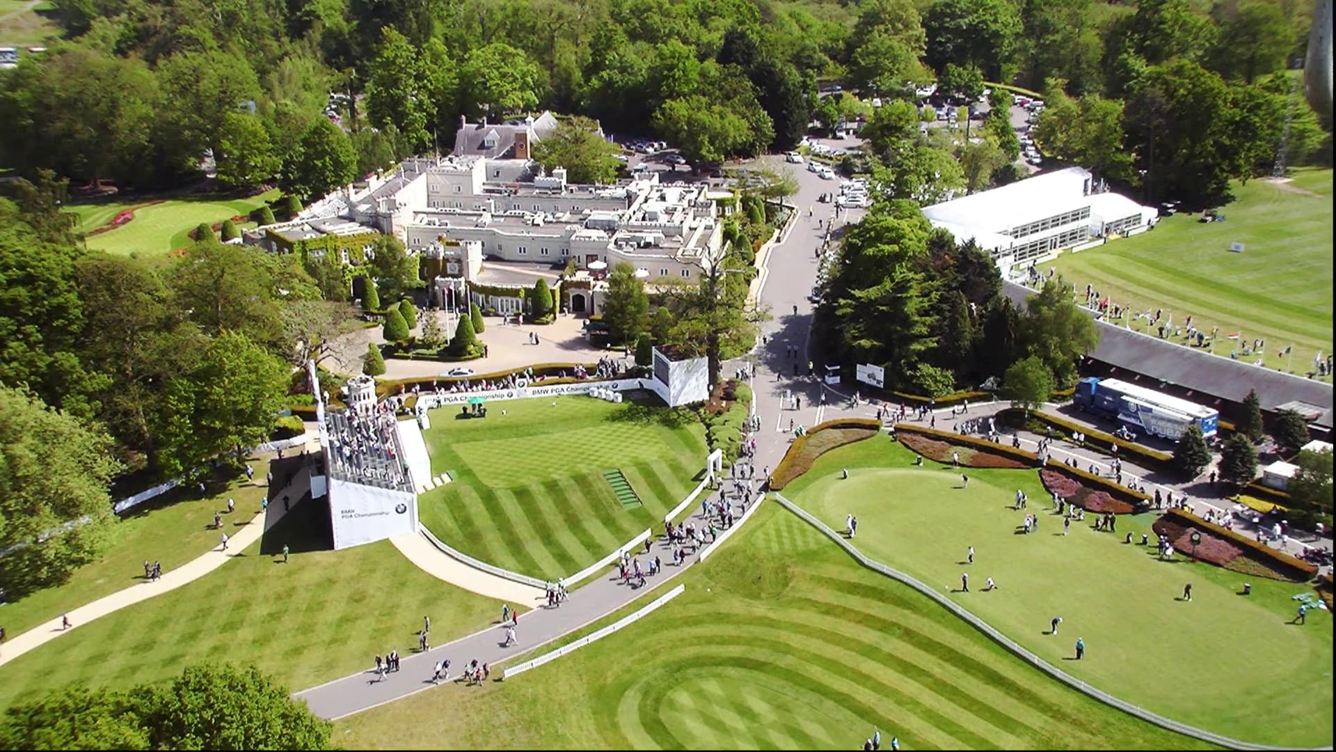 BMW PGA Championship: Extreme tee time | Golf Channel
