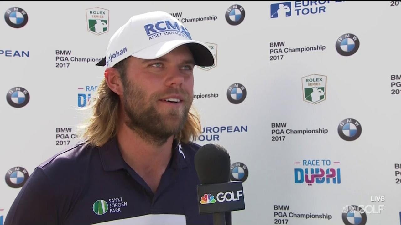 Johan Carlsson Round 1 Interview 2017 Bmw Pga Champ Golf Channel