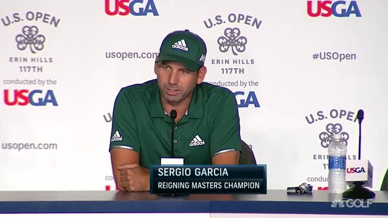 Sergio Garcia coolest thing he's done in green jacket | Golf Channel