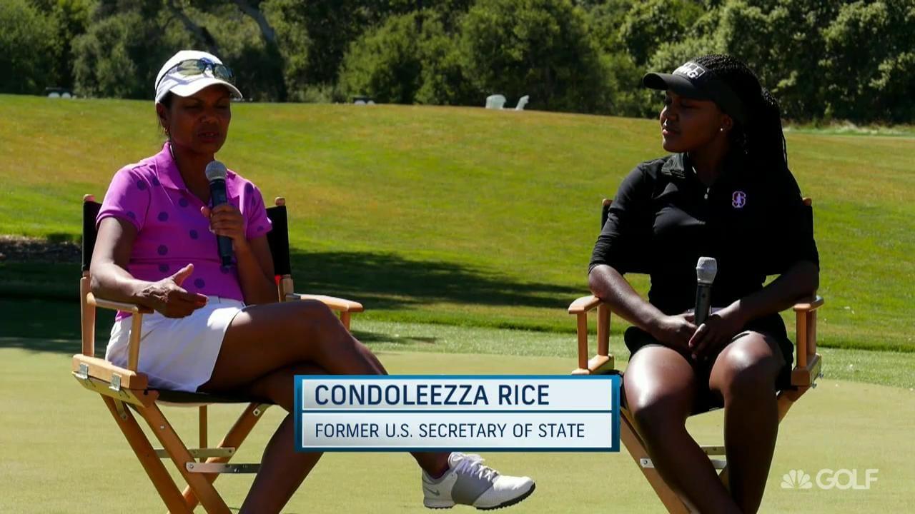 Condoleezza Rice, Mariah Stackhouse Benefits of Golf ...