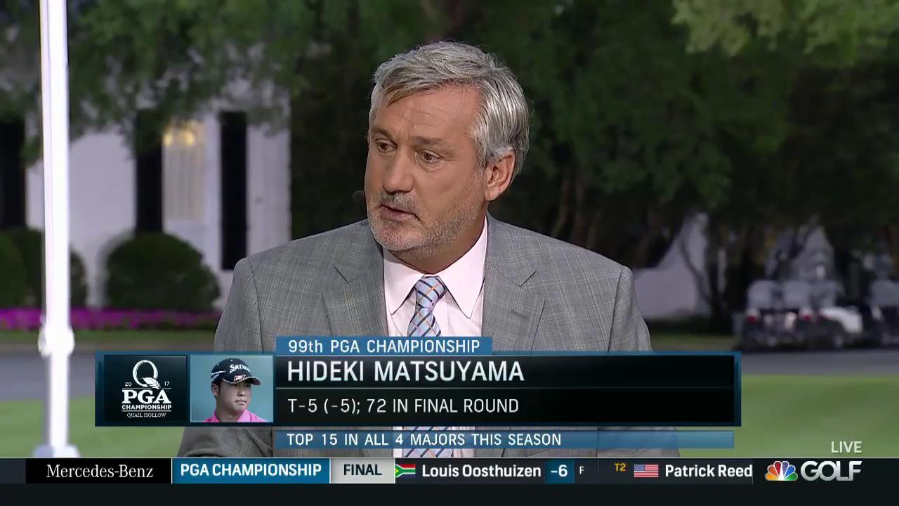 2017 Pga Championship Hideki Matsuyama Analysis Golf Channel