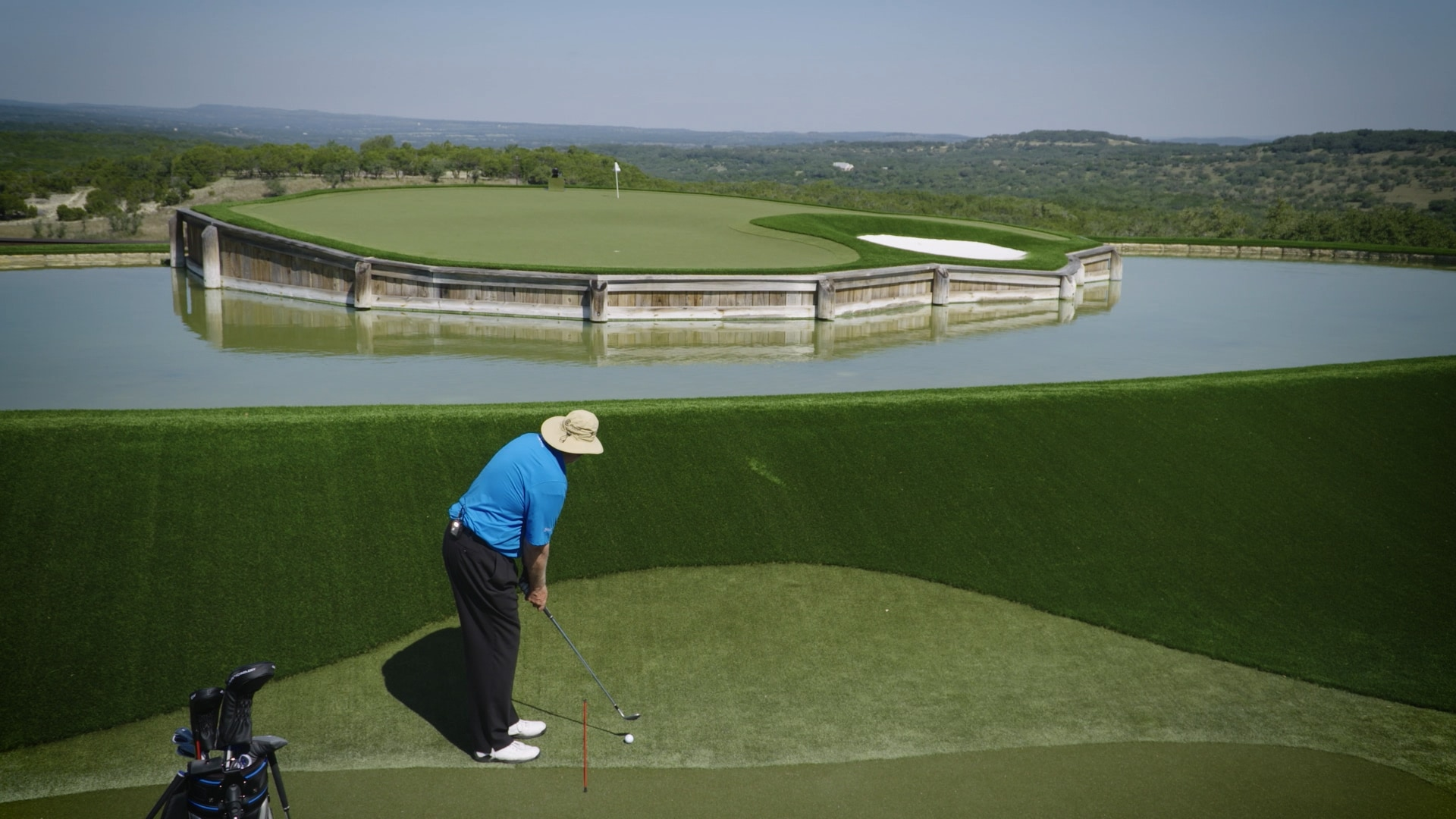 dave pelz wedge week how to set up for a high shot golf channel