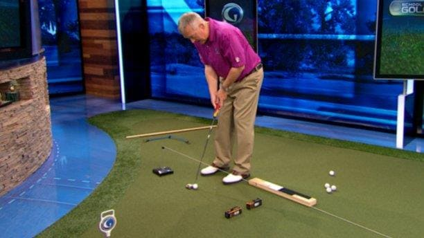 Martin Hall Putting Drills At Home - School of Golf | Golf Channel