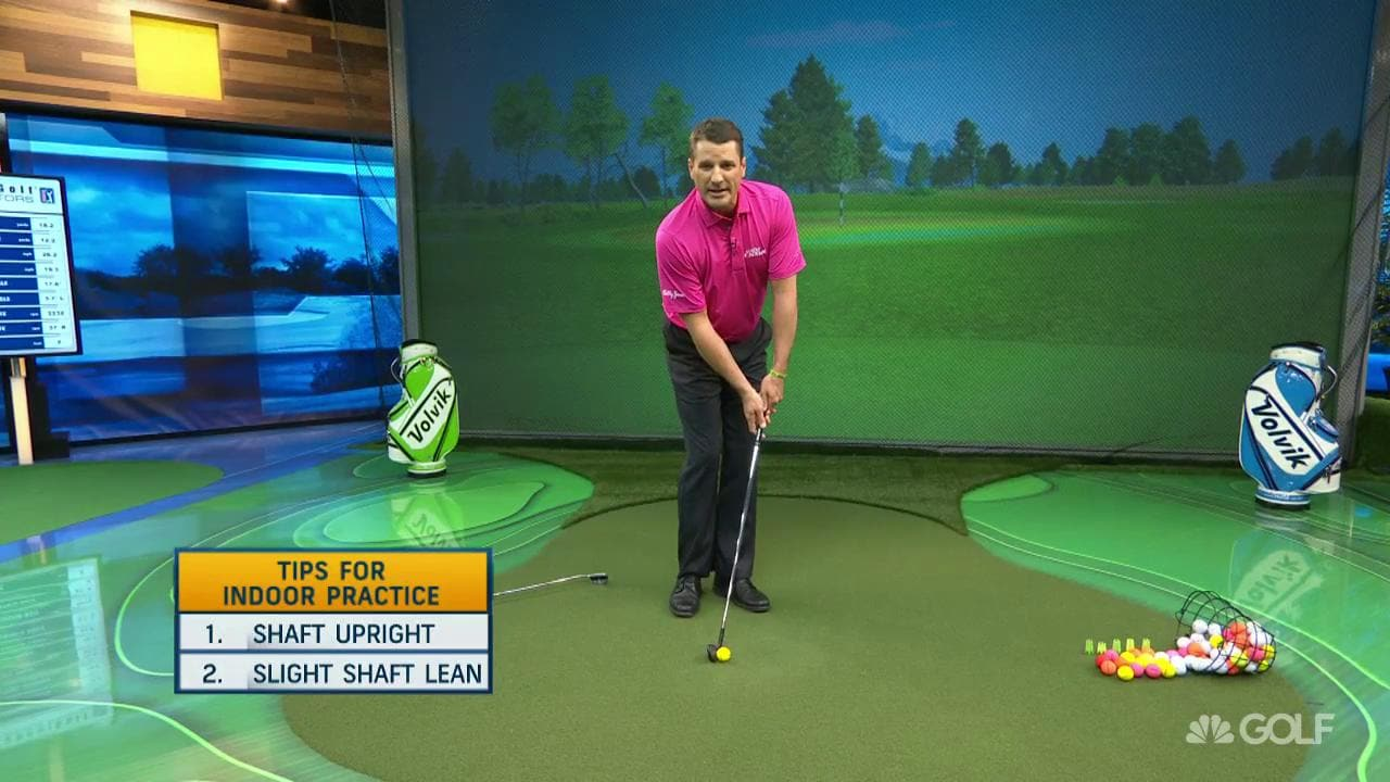 Travis Fulton's Indoor Chipping Practice Tips | Golf Channel