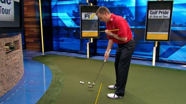 Tiger Woods Putting Stroke Tip Golf Channel