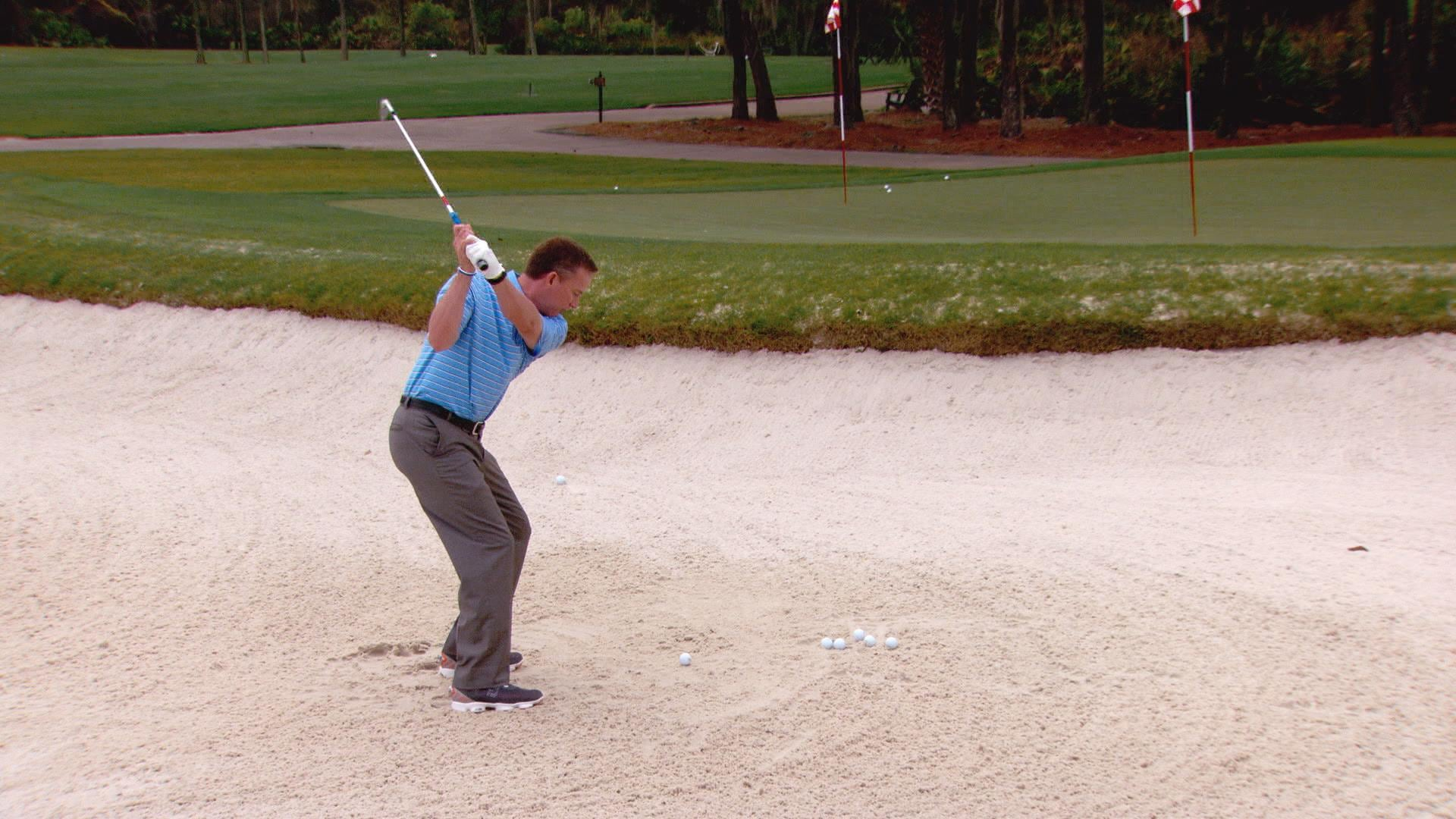 Michael Breed's fundamentals to bunker shots