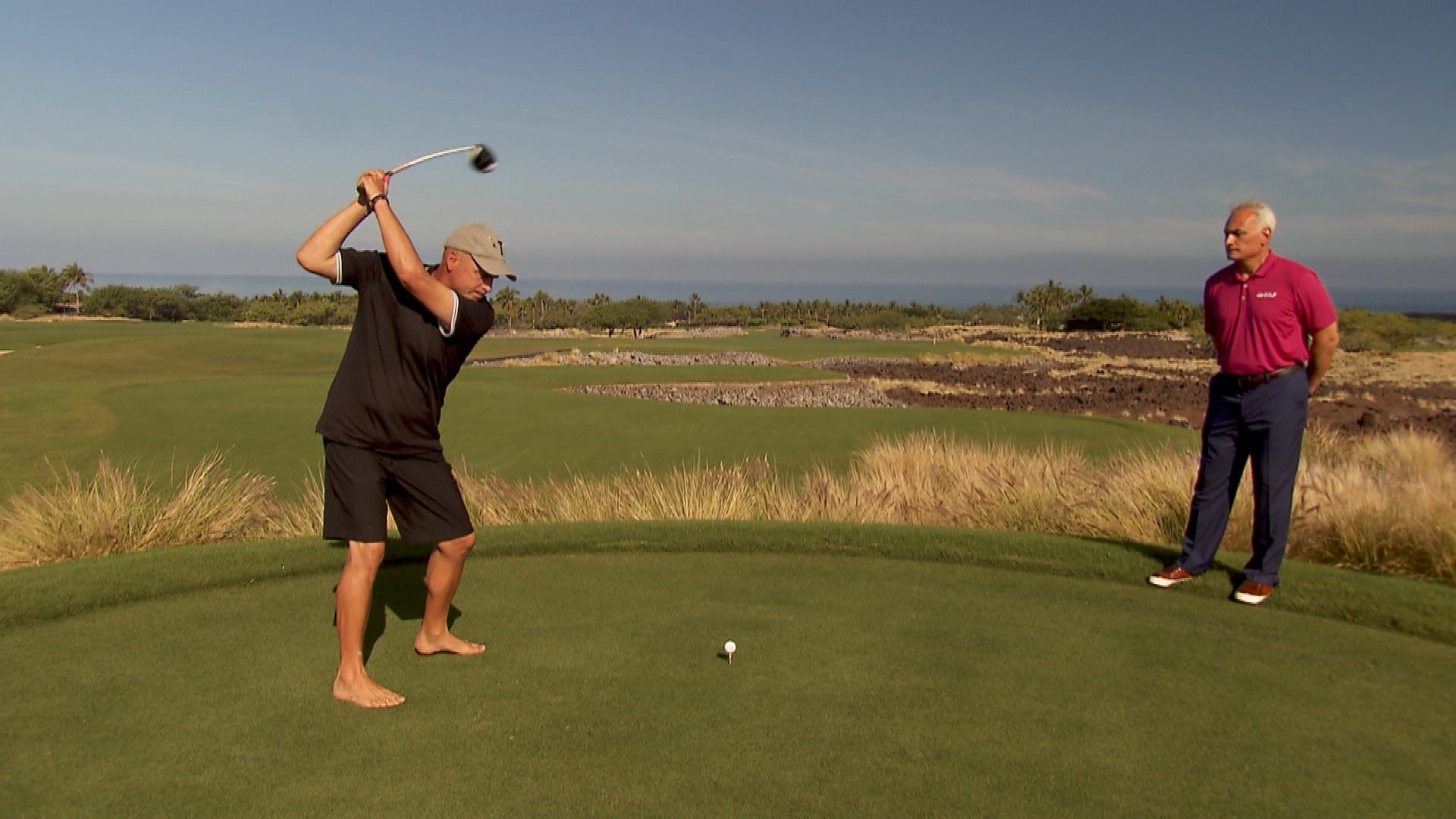 Rocco Mediate Talks Tiger Woods Gives Golf Swing Tips
