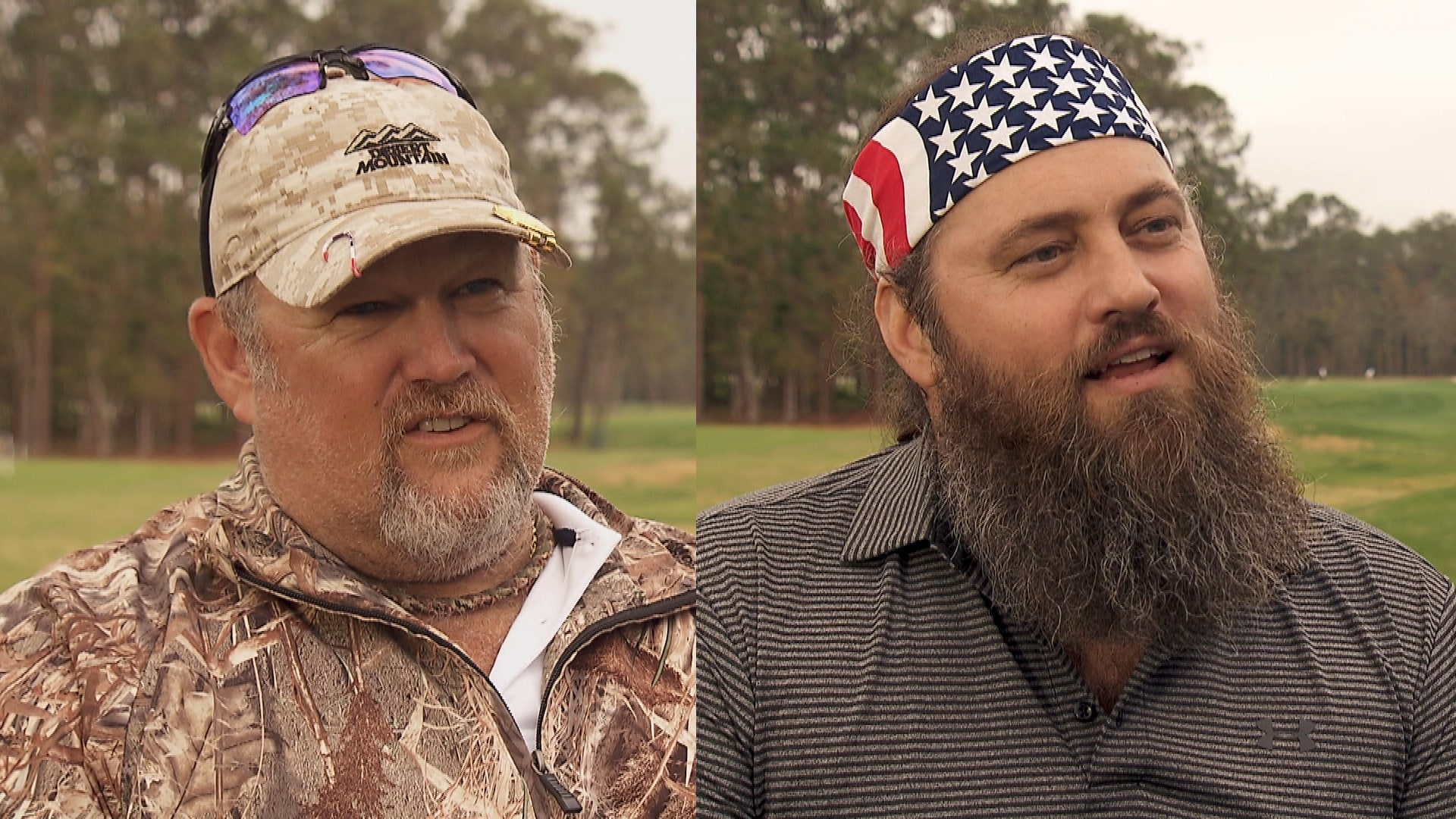 willie robertson  larry the cable guy on charlie rymer