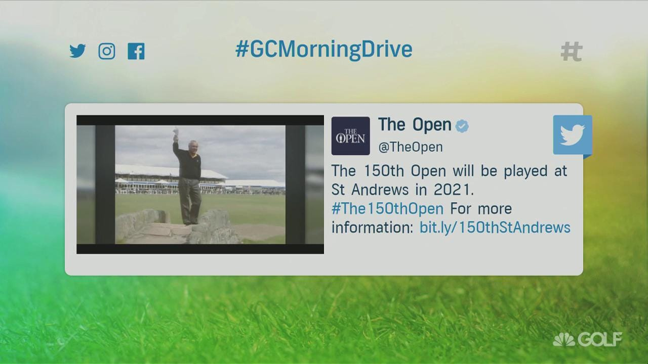 british open  st  andrews to host 150th open in 2021