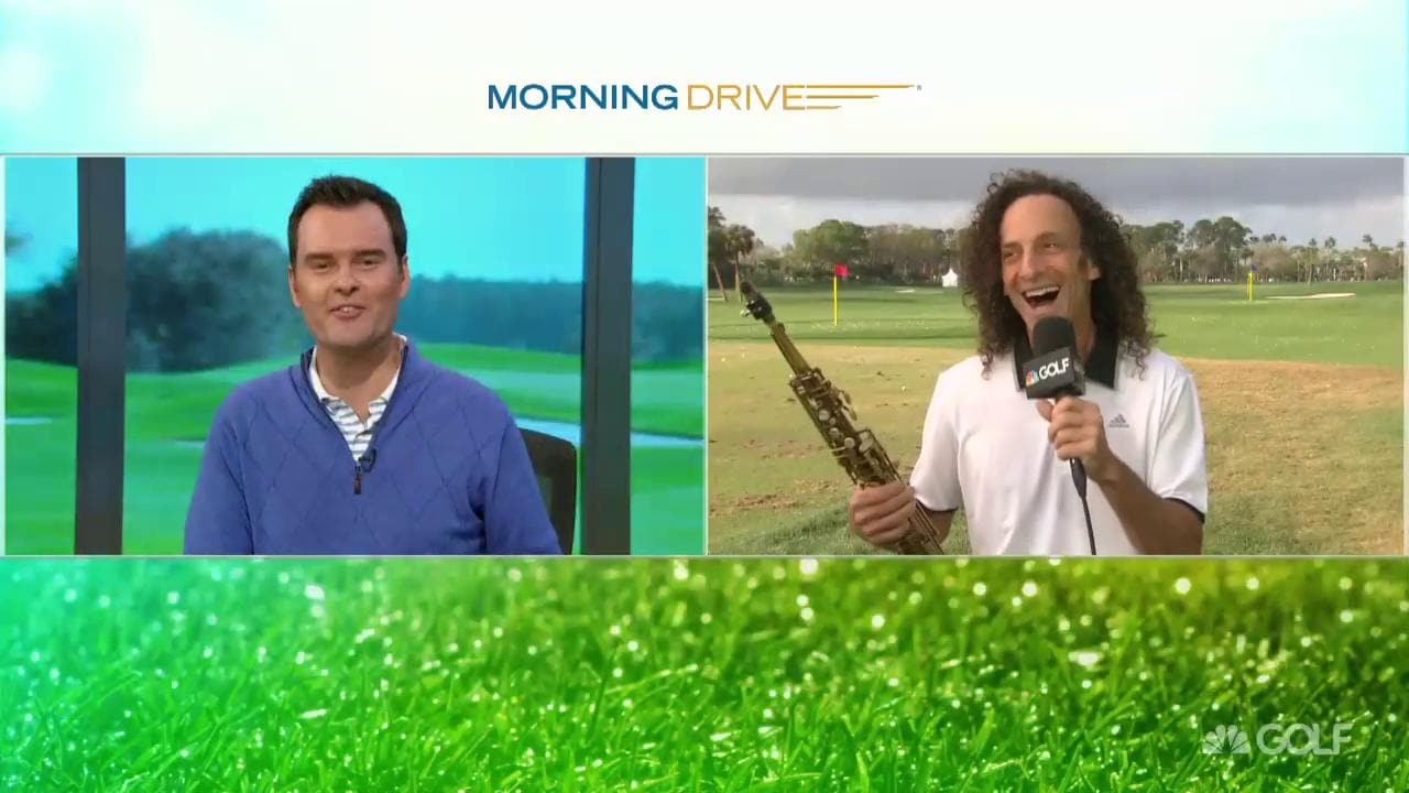 2018 Honda Classic Kenny G Plays With Celebrities Golf Channel