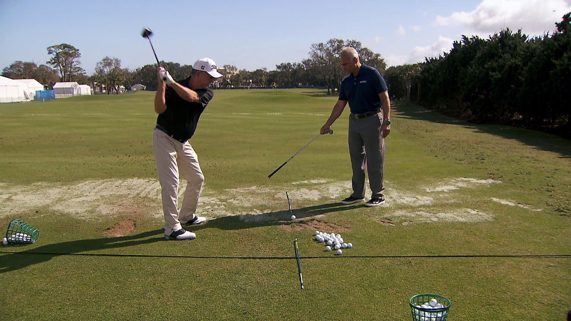 jay haas explains a common swing plane misconception
