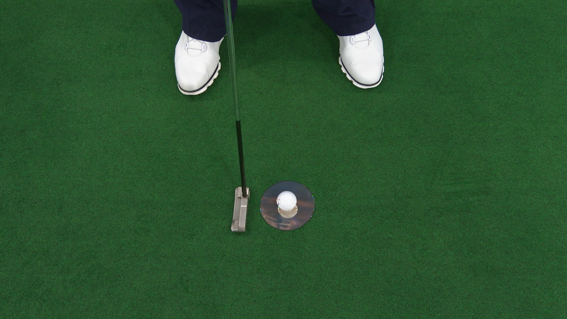 putting drill using cd disc to make more putts golf channel