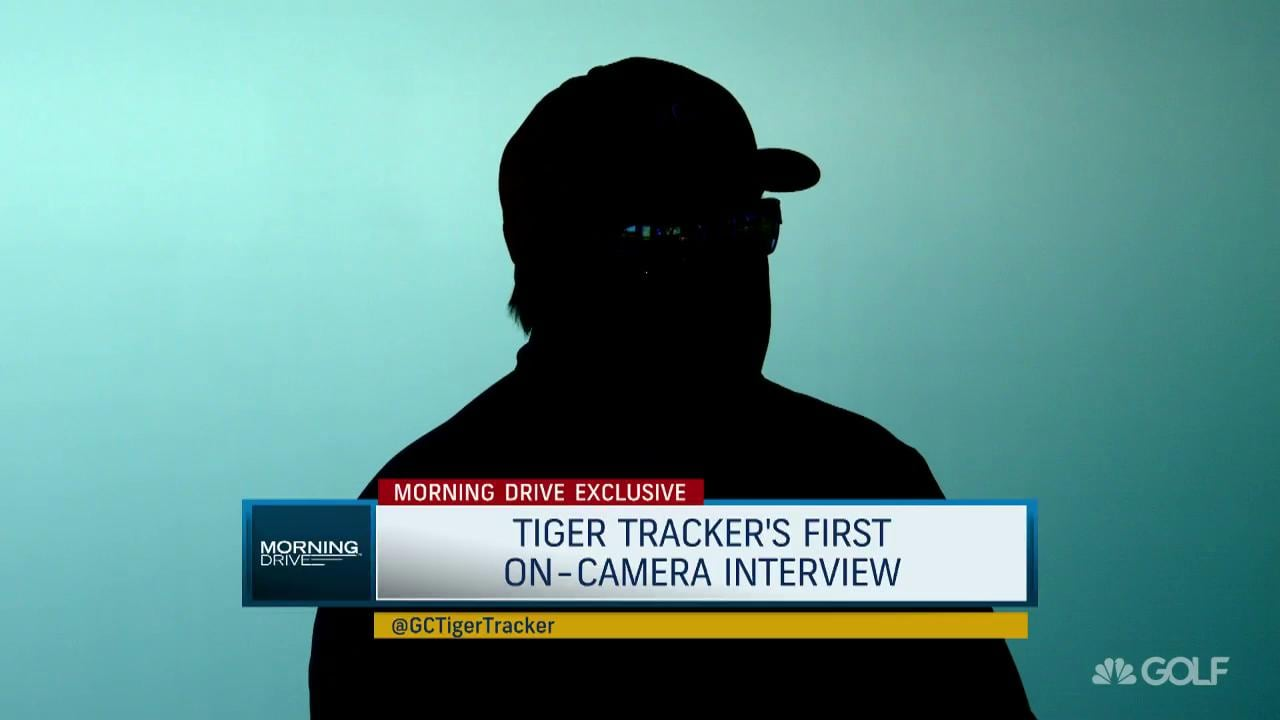 Tiger Tracker speaks for the first time | Golf Channel