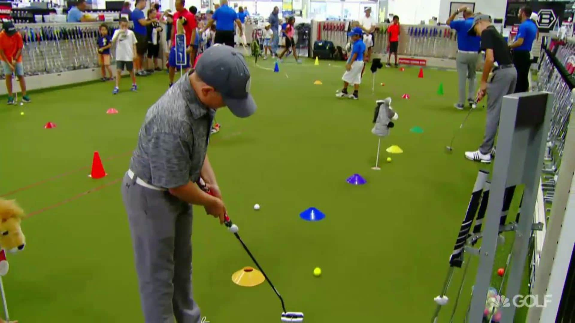 PGA Tour Superstore hosts free Kid Zone clinics | Golf Channel