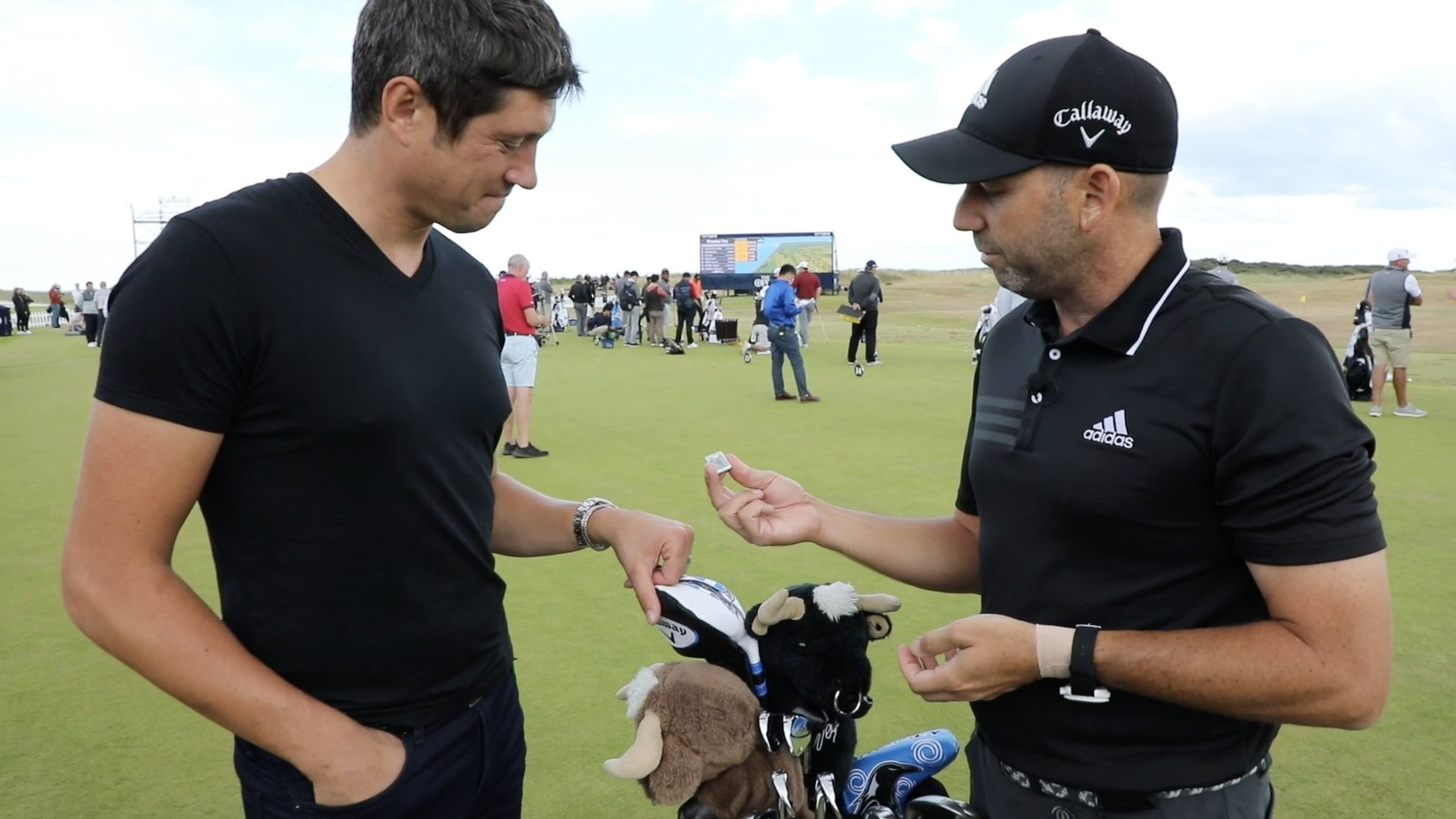 british open 2018  what u0026 39 s in the bag with sergio garcia