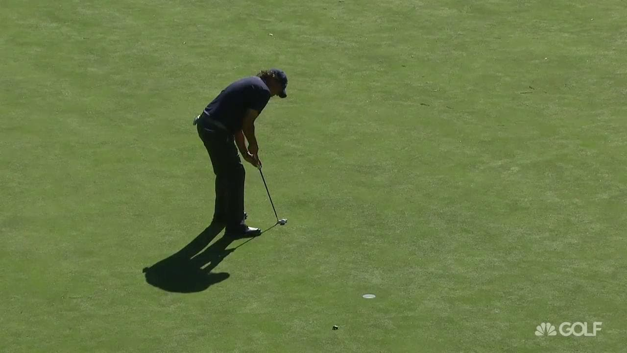 Phil Mickelson runs out of gas at Safeway Open