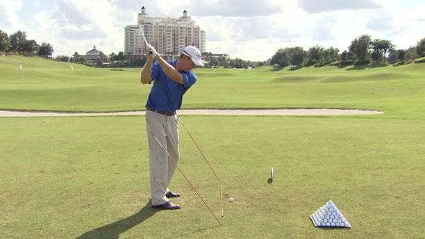 Golf Swing Tips And Drills Swing Plane Stick Drill Mark