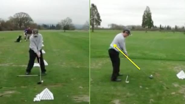 how to fix golf swing outside in