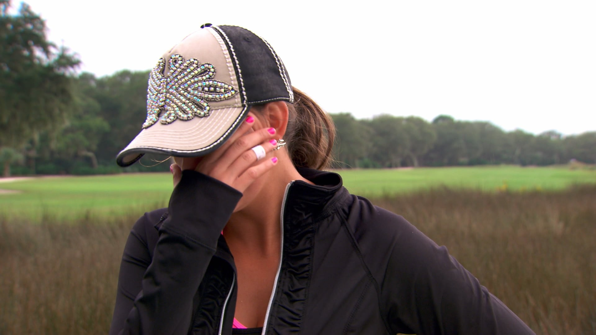 Courtney Coleman Big Break Elimination Interview | Golf ...