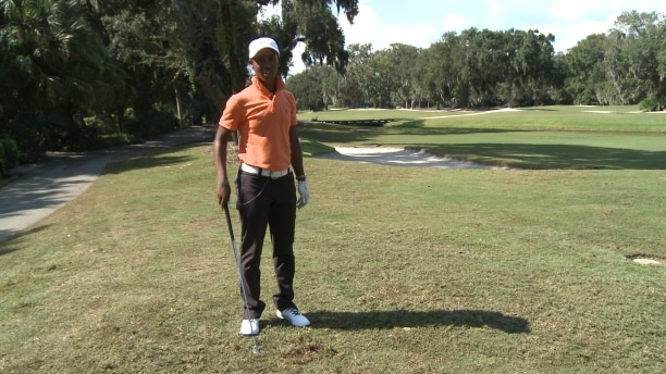 Big Break Sadena Parks Hitting From Rough Golf Tip Golf Channel