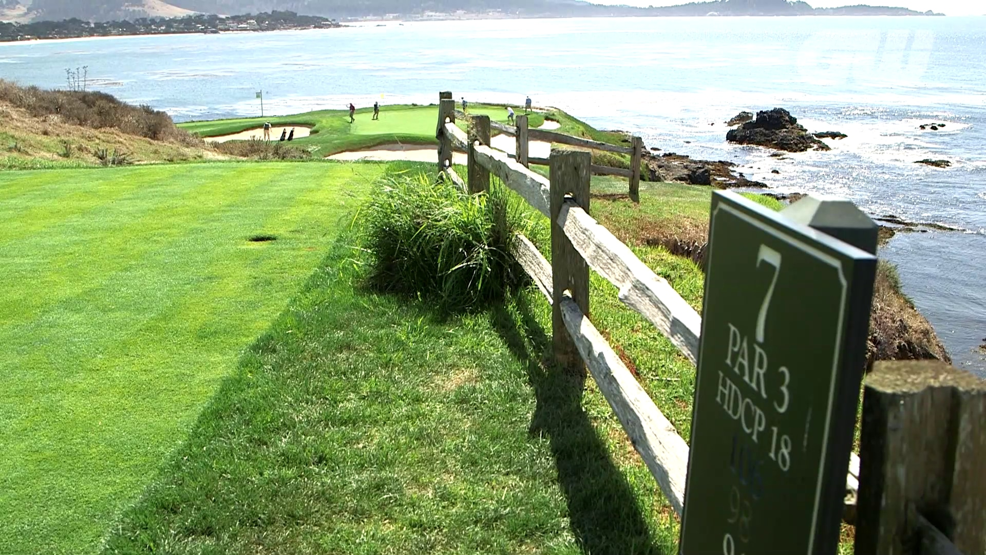 Pebble Beach Golf Course Pga Tour
