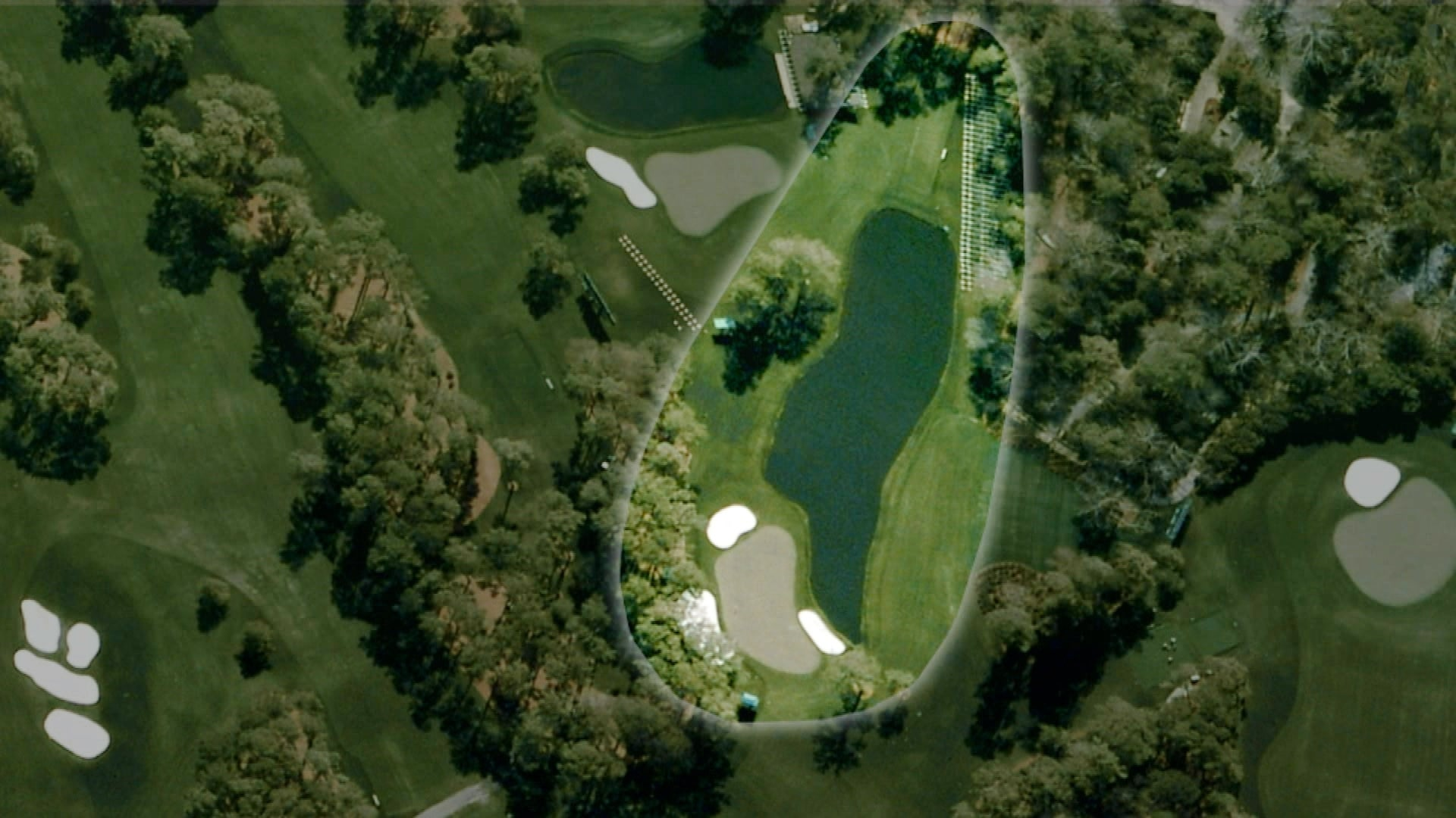 redbud  16th hole at augusta national
